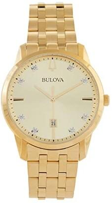 Bulova Sutton Diamond - 97D123 (Gold Tone) Watches