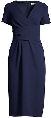 Shoshanna Sobremesa Faux Wrap Dress
