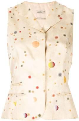 Hermes Pre-Owned x Margiela planets pattern waistcoat