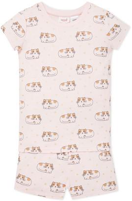 Seed Heritage Kitty Pyjama Baby