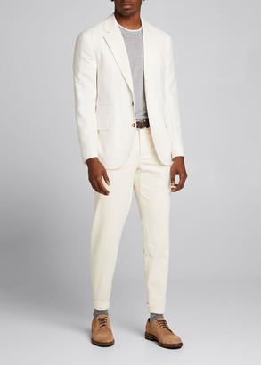 Brunello Cucinelli Men's Wool-Cashmere Twill Sport Jacket