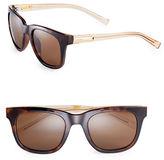 Calvin Klein 53mm Wafarer Sunglasses