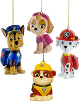 Kurt Adler Puppy Patrol Ornament Set