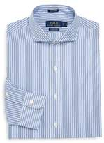 Polo Ralph Lauren Slim-Fit Striped Cotton Dress Shirt