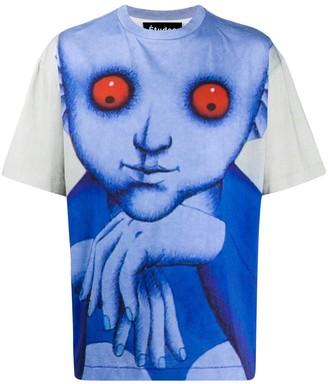 Études graphic print cotton T-shirt