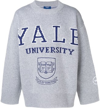 Calvin Klein Yale embroidered sweater
