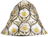 Gucci 'W Iris' lurex bucket hat - women - Silk/Polyamide/Metallic Fibre - S