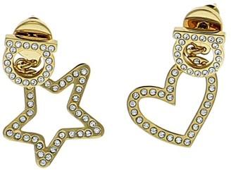 Salvatore Ferragamo Gancini Star Heart Earrings