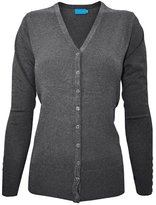Time Story Ever77 Women's V Neck Regular Fit Long Sleeve Sweater Cardigan/USA/TJ1023/CI-,M
