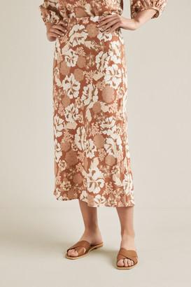 Seed Heritage Printed Slip Skirt