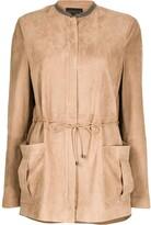 Fabiana Filippi tie-waist patch-pocket jacket