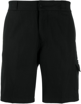 Salvatore Ferragamo Straight-Leg Chino Shorts