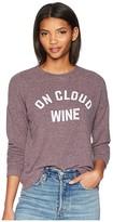 Original Retro Brand The On Cloud Wine Super Soft Haaci Pullover (Dark Maroon) Women's Clothing