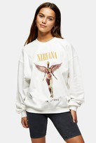 Womens Petite Cream Nirvana Sweatshirt By And Finally - Grey
