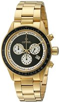 Tribeca Gevril Men's A2116 Analog Display Quartz Gold Watch