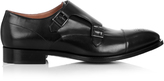 Paul Smith Atkins leather monk-strap shoes