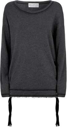 Wildfox Couture Jena Lace-Up Sweatshirt