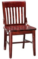 Regal Beechwood School House Solid Wood Seat Dining Chair