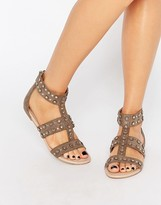 Carvela Bounce Stud Gladiator Flat Sandals