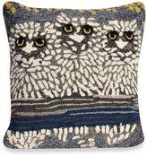 Liora Manné Frontporch Owls Night Square Throw Pillow