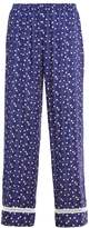 Cosabella MARGAUX Pyjama bottoms navy blue/white