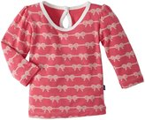 Kickee Pants Print Puff Tee (Baby) - Winter Rose Boat Rope-0-3 Months