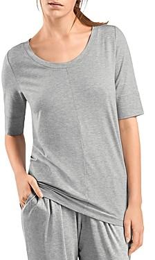 Hanro Yoga Three-Quarter Sleeve Top