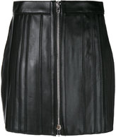 Givenchy mini skirt - women - Silk/Cotton/Lamb Skin/Viscose - 36