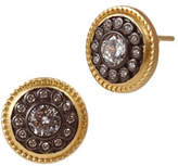 Freida Rothman Nautical Button Stud Earrings