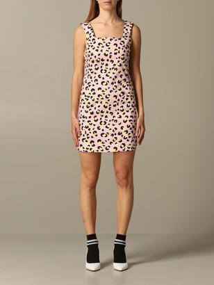 Love Moschino Dress Animal Print Sheath Dress