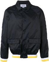 Sunnei contrast bomber jacket - men - Cotton - L