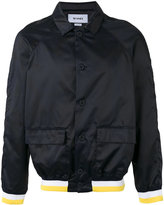 Sunnei contrast bomber jacket - men - Cotton - S
