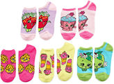 Asstd National Brand 5-Pc. Shopkins Girls No Show Socks