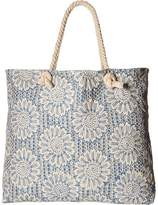 Echo Floral Embroidery Handbag Handbags