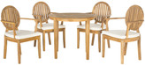 Safavieh Chino 5 Piece Dining Set with Cushions