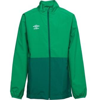 Umbro Junior Boys Training Shower Jacket TW Emerald/Verdant Green