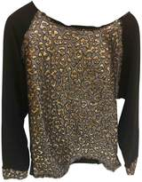 Gaelle Bonheur Black Cotton Knitwear for Women
