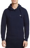 Emporio Armani French Terry Lounge Hoodie Sweatshirt