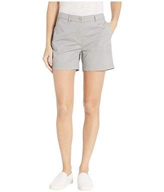 Tribal Stretch Mini Twill Fly Front Shorts