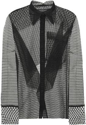 Roland Mouret Algar Lace Shirt