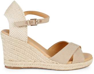 Nine West Ankle-Strap Wedge Espadrilles