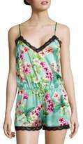 Yumi Kim Floral Sleeveless Jumpsuit