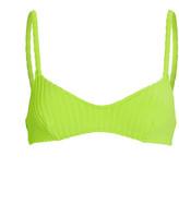 Solid & Striped Rachel Ribbed Bikini Top