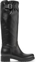 MM6 MAISON MARGIELA Coated-canvas and rubber rain boots