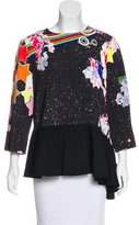 Preen Digital Print Long Sleeve Top