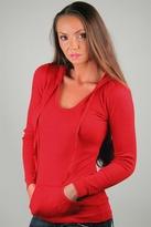 Clothing Thermal Long Sleeve Hoodie in Valentine
