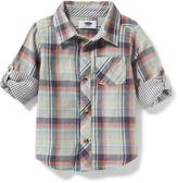 Old Navy Double-Weave Pocket Shirt for Toddler