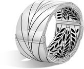 John Hardy Modern Chain Hinged Bangle with Diamonds