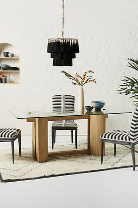 Anthropologie Zeus Dining Table By in Beige Size ALL