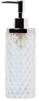 SKL Home Frosted Lotion/Soap dispenser, Frosty, 11 oz.